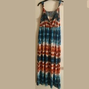 NY Collection Multi-color Dress Beautiful Colors